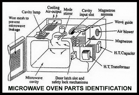 Microwave Oven Parts Identification