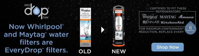 new whirlpool refrigerator water filters