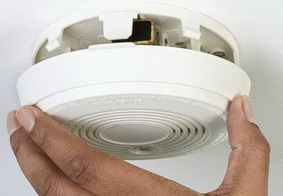 Image result for broken smoke detector
