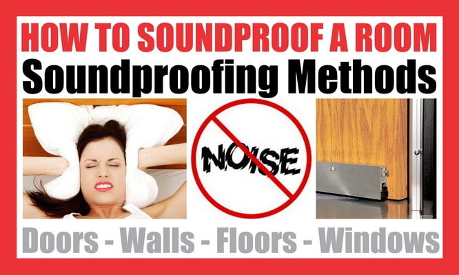 How to soundproof a room and block noise Soundproof a bedroom wall noisy neighbours