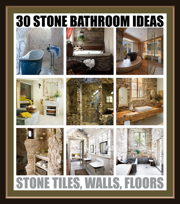 stone bathroom ideas