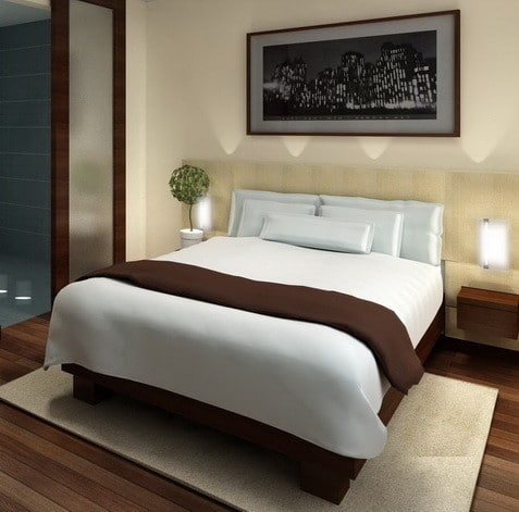 30 Hotel Style Bedroom Ideas_05