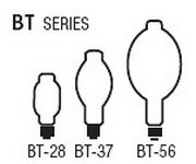 Bulb Sizes Shapes - BT Series Bulbs