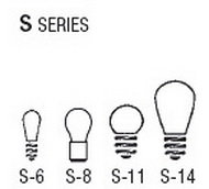 Bulb Sizes Shapes - S Series Bulbs