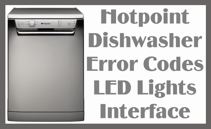 What are some common LG dishwasher error codes?