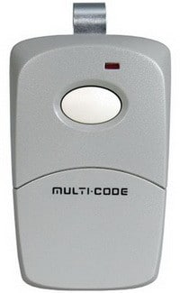 Linear Multicode Compatible Visor Garage Remote Opener