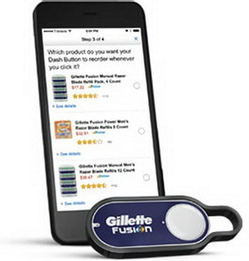 how the amazon dash buttons work