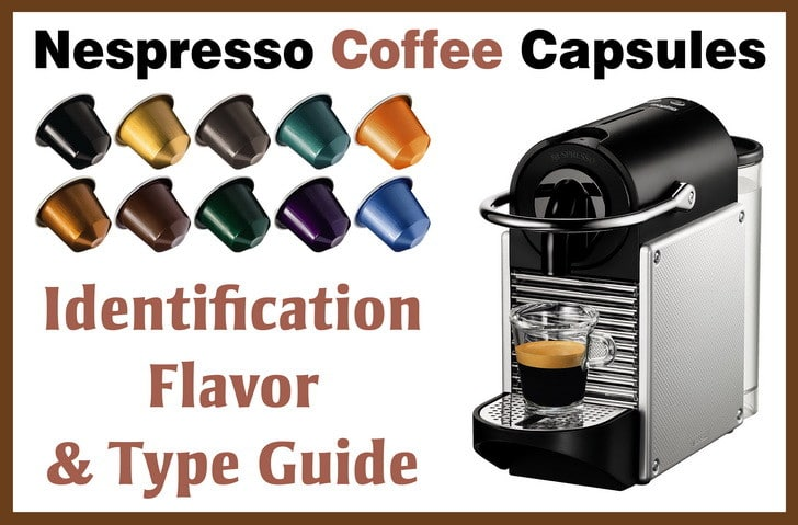 Nespresso coffee identification flavor type
