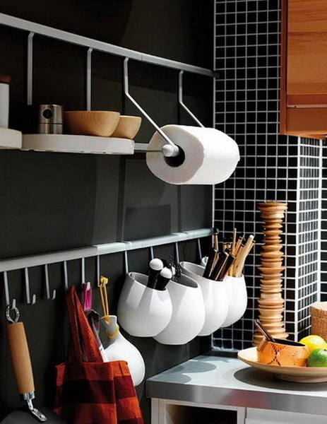 Kitchen Rail Storage Ideas_21