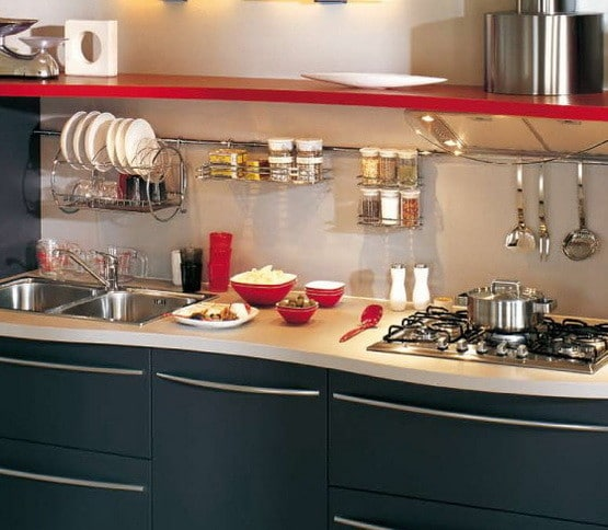 Kitchen Rail Storage Ideas_22