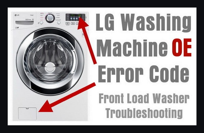 LG Washer Error Code OE lg front load washing machine error code oe how to clear Trailer Wiring Harness at n-0.co