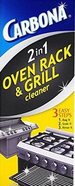 Carbona oven rack grill cleaner