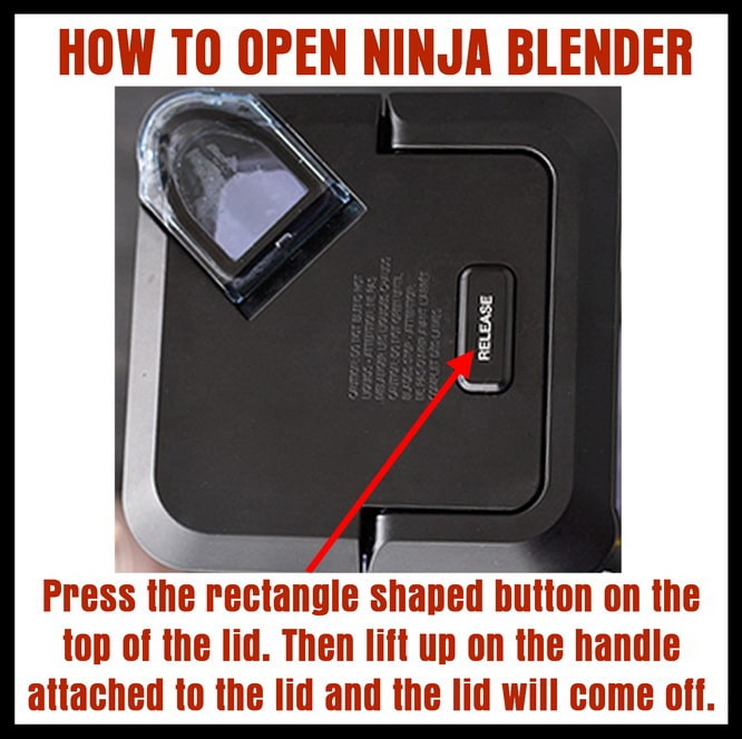 How TO Open Ninja Blender LID