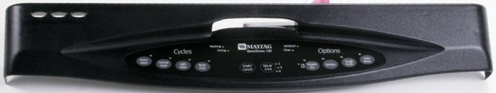 Maytag Dishwasher Front Panel Blinking