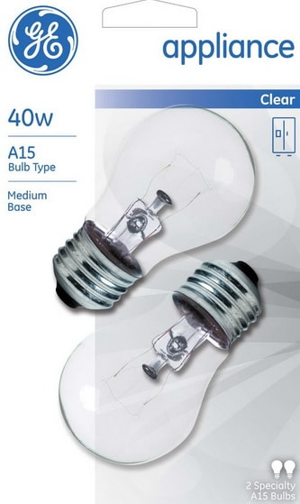 Light Bulbs For Microwave Refrigerator Oven Range