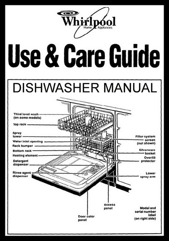 Whirlpool Dishwasher Error Codes Lights Blinking Flashing on wiring diagram numbers