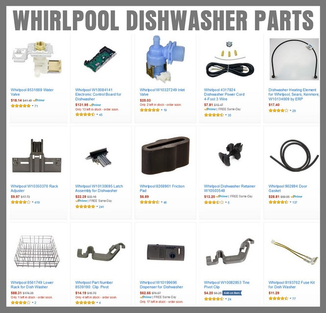 Whirlpool Dishwasher Error Codes Lights Blinking