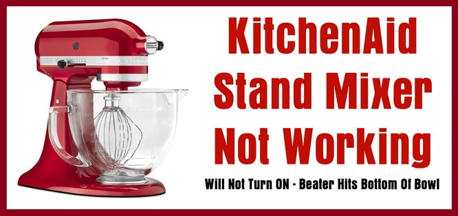 Kitchen Aid Mixer Speed Control Plate Troubleshoot