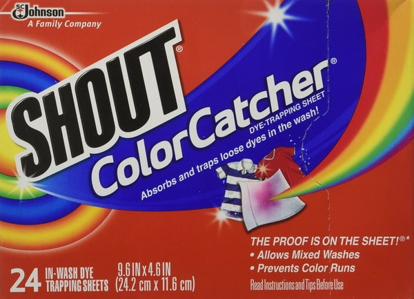 Shout Color Catcher - Wash Whites And Darks Together