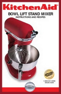 kitchenaid 4.5qt 5qt stand mixer service manual