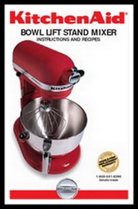 kitchenaid 5qt 6qt stand mixer service manual