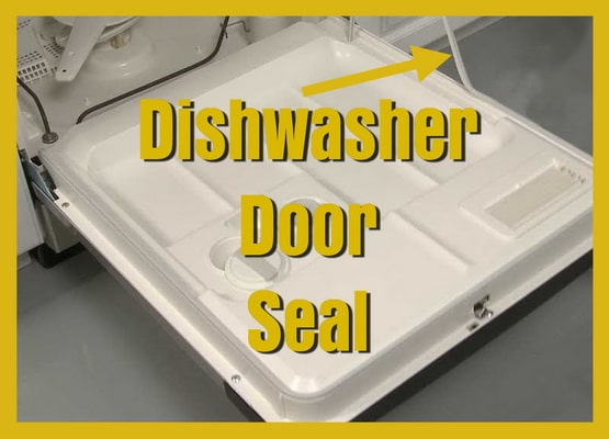 Dishwasher Door Seal Gasket