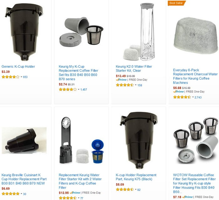 Keurig Replacement Parts