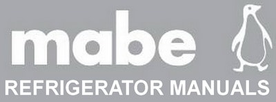 MABE refrigerator troubleshooting manual