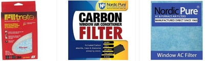 Replacement Window AC Filters