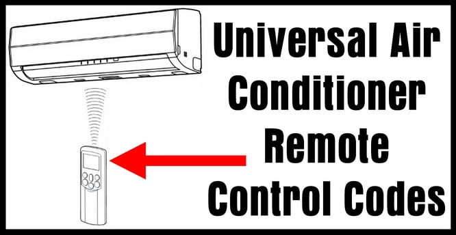 Elco Air Conditioner Alluring Universal Air Conditioner Remote Control Codes  Removeandreplace Review