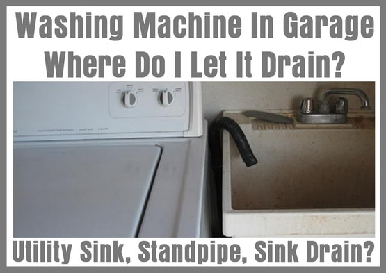 standpipe overflow washing machine