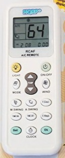 HQRP Universal Remote Control Compatible with LG LW1012CR LW1012ER LW1210HR LW1211ER LW1212ER LW1212HR Air Conditioner