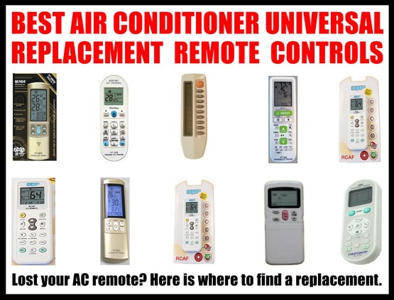Universal Air Conditoner Replacment Remotes