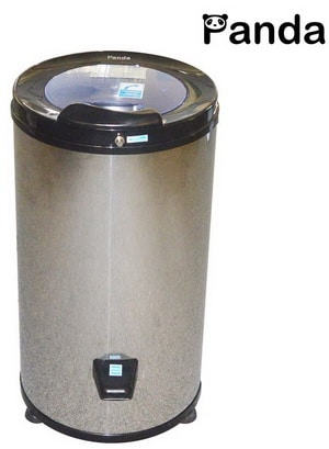 panda high end stainless steel portable spin dryer apartment size 110v 22 lbs pansp22