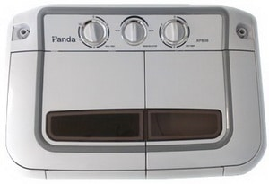 Panda Small Compact Portable Washing Machine 7.9 lbs Capacity with Spin Dryer XPB36