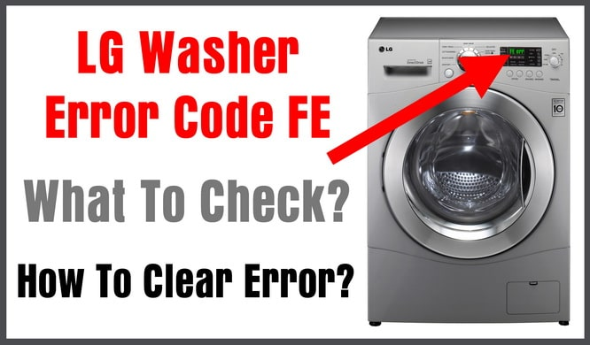 lg washing machine codes le