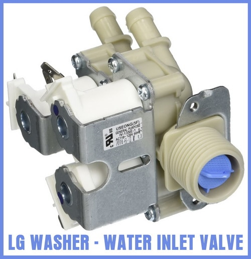 LG washing machine water inlet valve