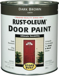 Exterior door paint metal or wood doors
