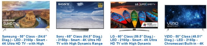 4K Ultra HD TVs with High Dynamic Range HDR