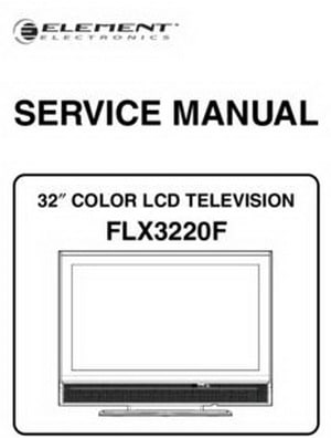 Tv service repair manuals schematics and diagrams element lcd tv service manuals fandeluxe Gallery