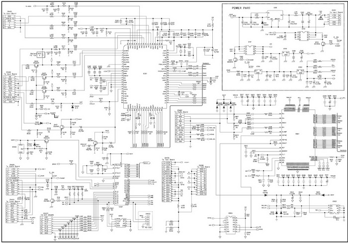 HISENSE LCD TV CIRCUIT DIAGRAM tv service repair manuals schematics and diagrams Flat Screen TV Drawing at gsmportal.co