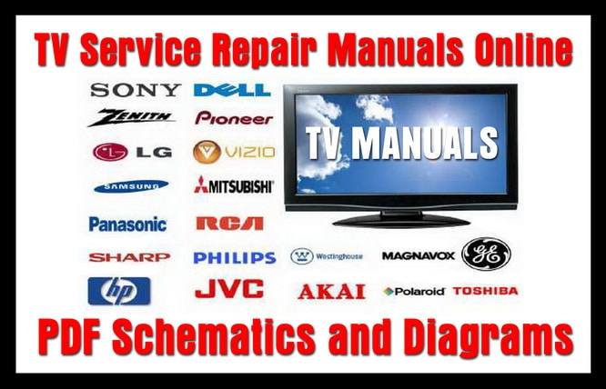 tv service repair manuals schematics and diagrams rh removeandreplace com sony bravia tv manuals online Insignia Roku TV Remote Manual