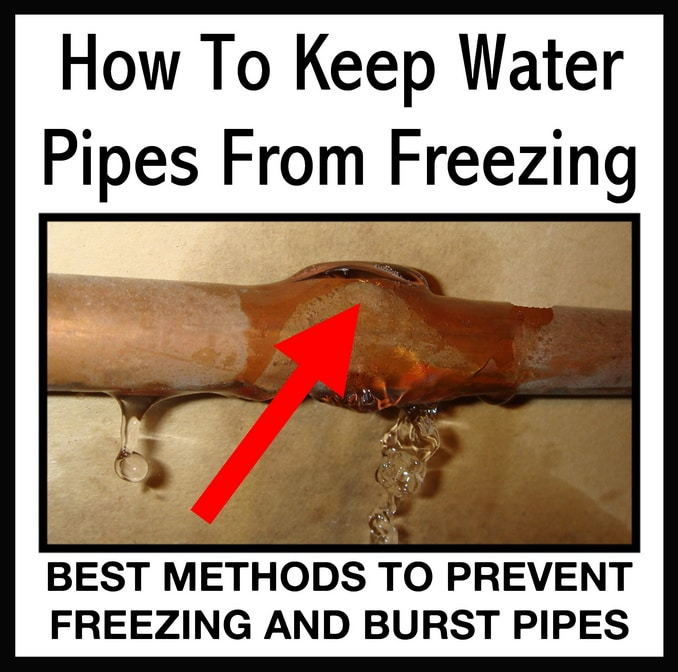 Simple Ways To Keep Water Pipes From Freezing