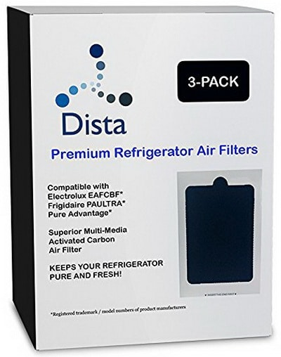 Frigidaire Pure Air Ultra Refrigerator Compatible Air Filter - Also fits Electrolux CEAFCBF PAULTRA 242061001 241754001