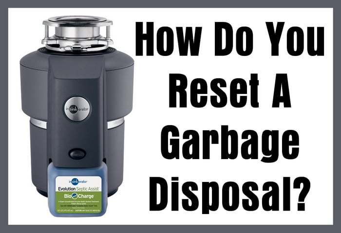 how to change the garbage disposal