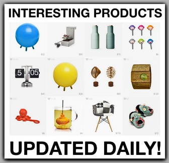 Interesting New Products - Updated Daily