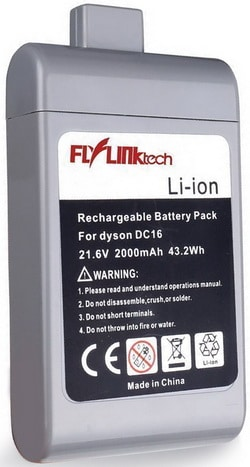 Battery Replacement For Dyson DC16 Handheld Vacuum Cleaners