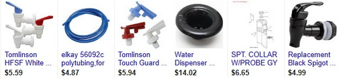 Bottled Water Cooler Dispenser Parts