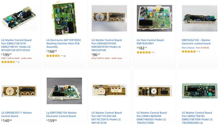 LG Washer Main Control Boards - Remove and Replace when you get the EE error code