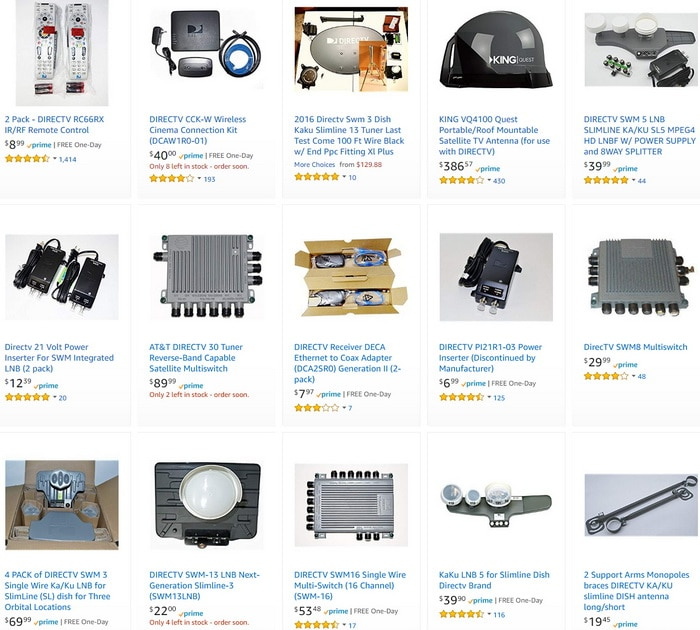 DIRECTV Parts And More